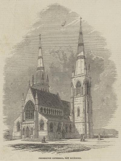 Fredericton Cathedral, New Brunswick--Giclee Print