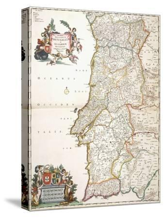 Map Showing Portugal, C.1680