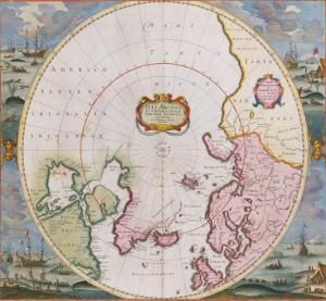 Poli Arctici, 1675 by Frederik De Wit