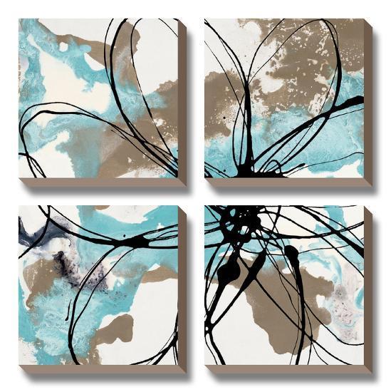 Free Flow I-Natasha Barnes-Canvas Art Set