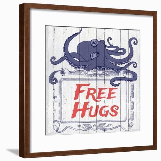 Free Hugs--Framed Giclee Print