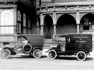 Free Library of Philadelphia Vans