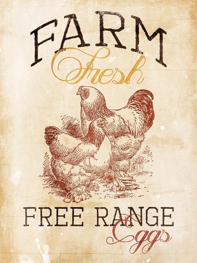 Free Range Eggs-Jace Grey-Art Print