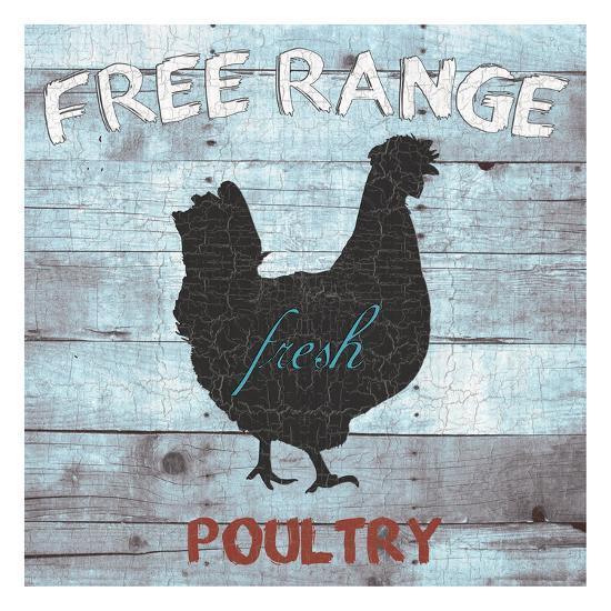 Free Range Poultry-Sheldon Lewis-Art Print