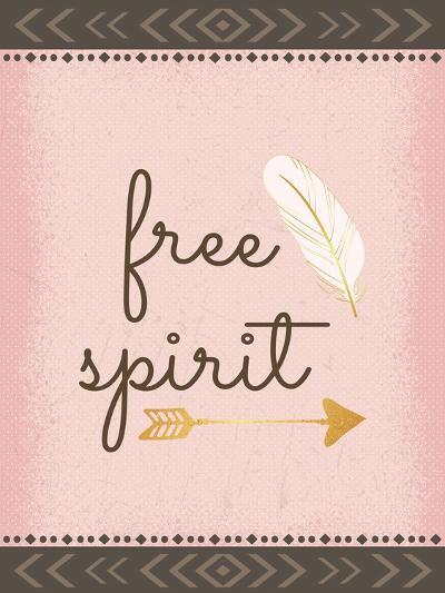 Free Spirit-ND Art-Art Print