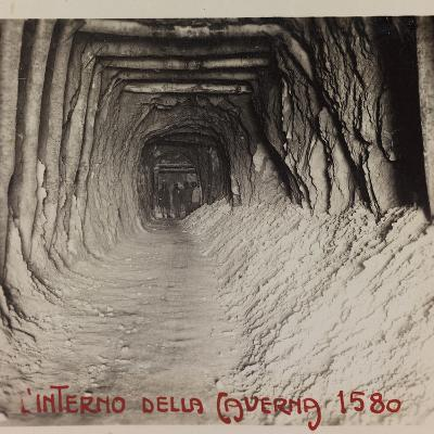 Free State of Verhovac-July 1916: Entrance to the Cave (Cave in 1580)--Photographic Print