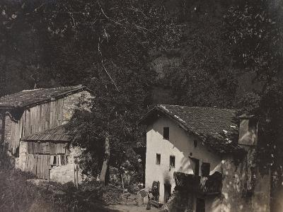 Free State of Verhovac-July 1916: Houses in Ghialloz--Photographic Print