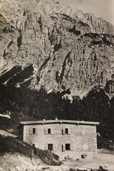 Free State of Verhovac-July 1916: Military Shelter on Mount Vualt--Photographic Print