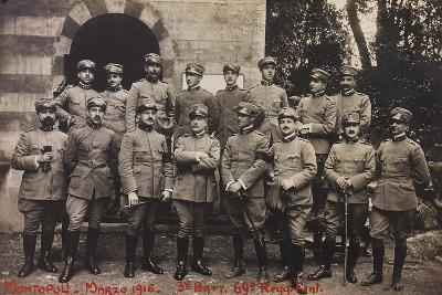 Free State of Verhovac-July 1916: Soldiers of the Third Battalion 69th Infantry Regiment--Photographic Print