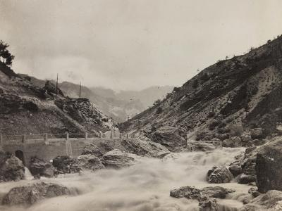 Free State of Verhovac-July 1916: the River in Val D'Aupa--Photographic Print