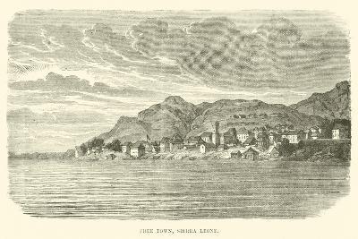 Free Town, Sierra Leone--Giclee Print