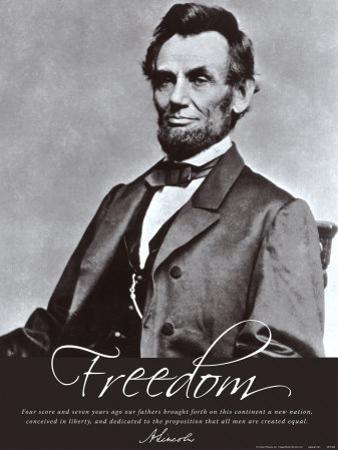 Freedom: Abraham Lincoln