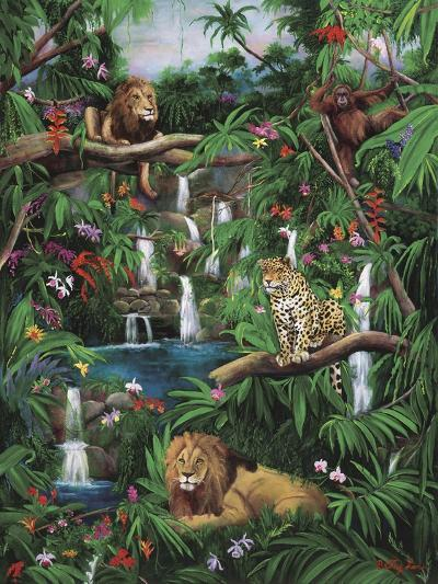 Freedom in the Jungle-Betty Lou-Giclee Print