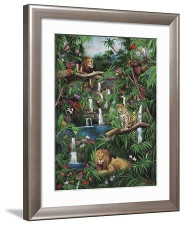 Freedom in the Jungle-Betty Lou-Framed Giclee Print