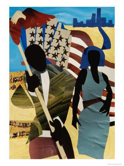 Freedom's Mission-Gil Mayers-Giclee Print