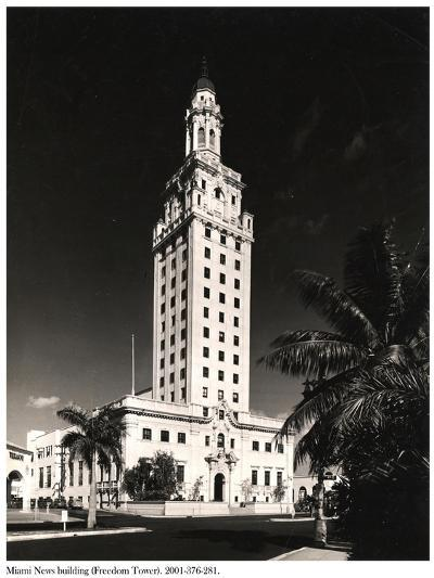 Freedom Tower, Miami--Photographic Print