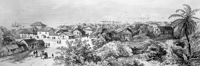 Freetown, Sierra Leone (Engraving)-English-Giclee Print