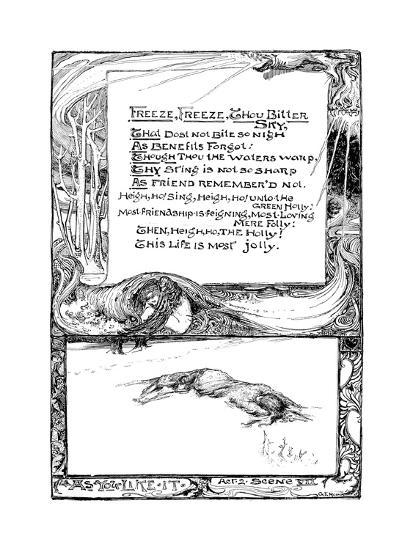 Freeze, Freeze, Thou Bitter Sky, 1895-Giraldo Eduardo Lobo de Moura-Giclee Print