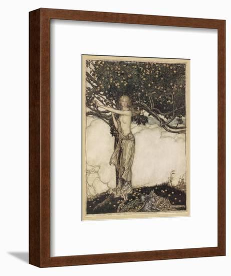 Freia, the Fair One-Arthur Rackham-Framed Giclee Print