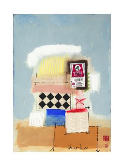 Freie Fahrt Collage-Bruno Haas-Premium Giclee Print