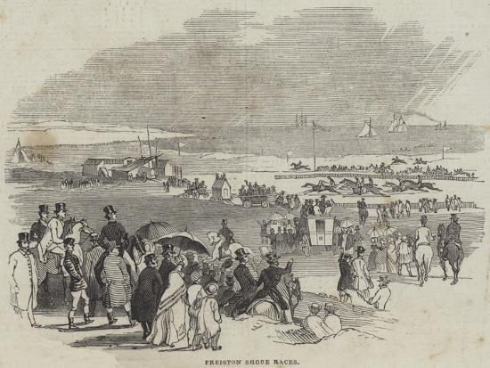 Freiston Shore Races--Giclee Print