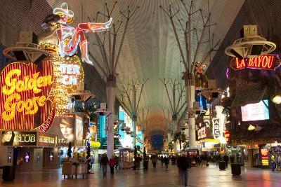 Fremont Street Experience Las Vegas, Nevada, USA-Michael DeFreitas-Photographic Print