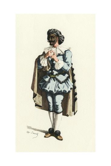 Fren. Theatre, Marc-Aurel-Maurice Sand-Giclee Print