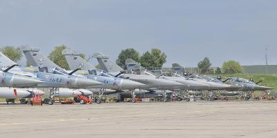 French Air Force and Royal Saudi Air Force Planes on the Flight Line-Stocktrek Images-Photographic Print