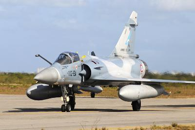 French Air Force Mirage 2000 Taxiing at Natal Air Force Base, Brazil-Stocktrek Images-Photographic Print