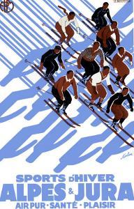 French Alps Snow Ski