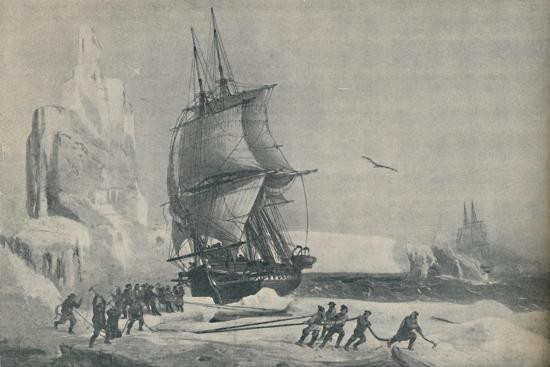 'French Antarctic Expedition under Captain JSC Dumont d'Urville, August 1833', 1937-Unknown-Giclee Print