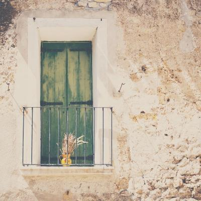 French Balcony with Shutters in Summer-Laura Evans-Photographic Print
