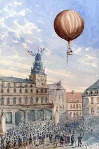 French Balloon Lift Off