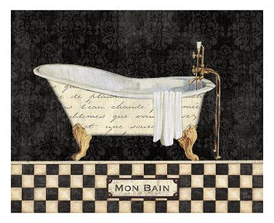 French Bathtub I-NBL Studio-Art Print