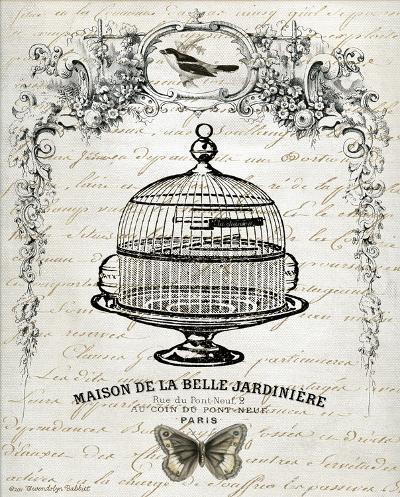 French Birdcage I-Gwendolyn Babbitt-Art Print