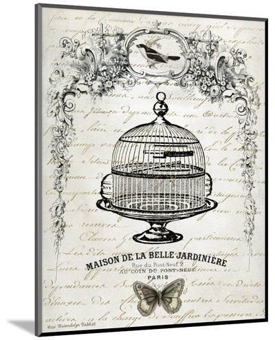 French Birdcage I-Gwendolyn Babbitt-Mounted Print