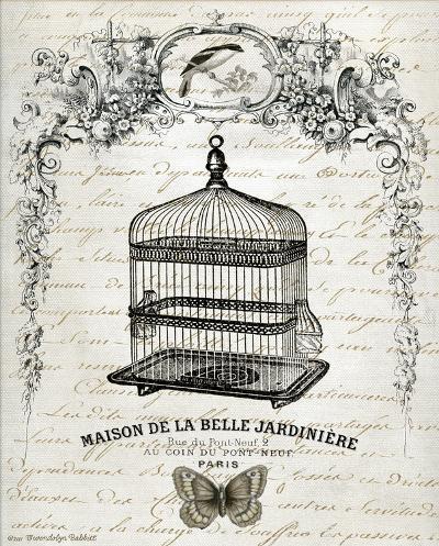 French Birdcage II-Gwendolyn Babbitt-Art Print
