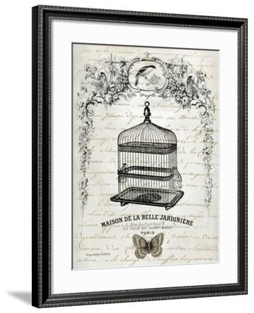 French Birdcage II-Gwendolyn Babbitt-Framed Art Print