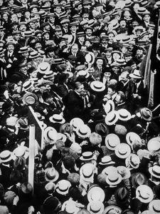 French Boxer Georges Carpentier Arriving in London, July 1914
