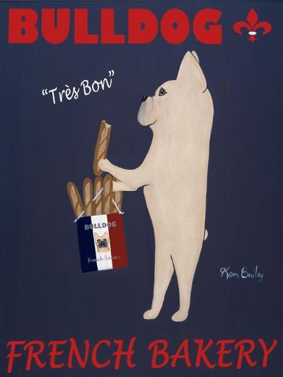French Bulldog Bakery-Ken Bailey-Premium Giclee Print