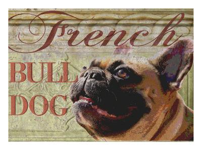French Bulldog-Wendy Presseisen-Premium Giclee Print