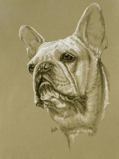 French Bulldog-Barbara Keith-Giclee Print