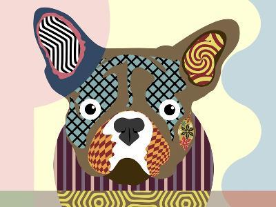 French Bulldog-Lanre Adefioye-Giclee Print