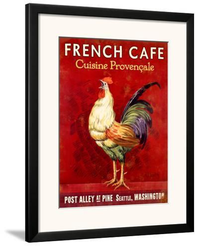 French Cafe, Seattle, Washington--Framed Giclee Print