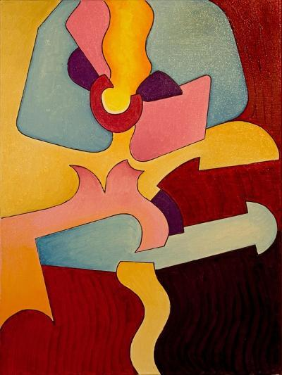 French Can-Can, 2007-Jan Groneberg-Giclee Print