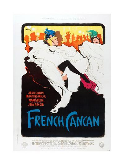 French Can Can, poster art, 1955--Art Print