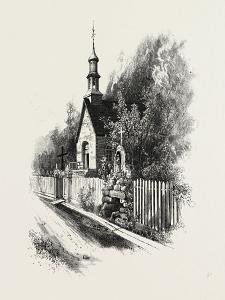 French Canadian Life, Chapel and Grotto at Ste. Anne De Beaupre, Canada, Nineteenth Century