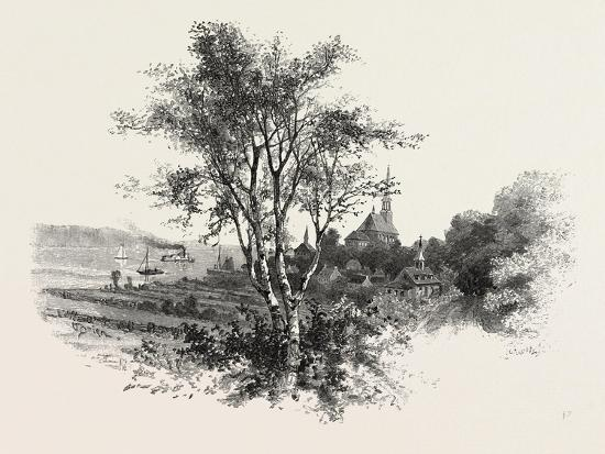 French Canadian Life, Chateau Richer, Canada, Nineteenth Century--Giclee Print
