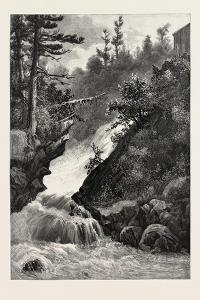 French Canadian Life, Falls of Lorette, Canada, Nineteenth Century