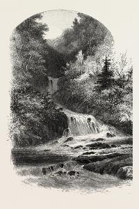 French Canadian Life, Little Shawenegan, Canada, Nineteenth Century